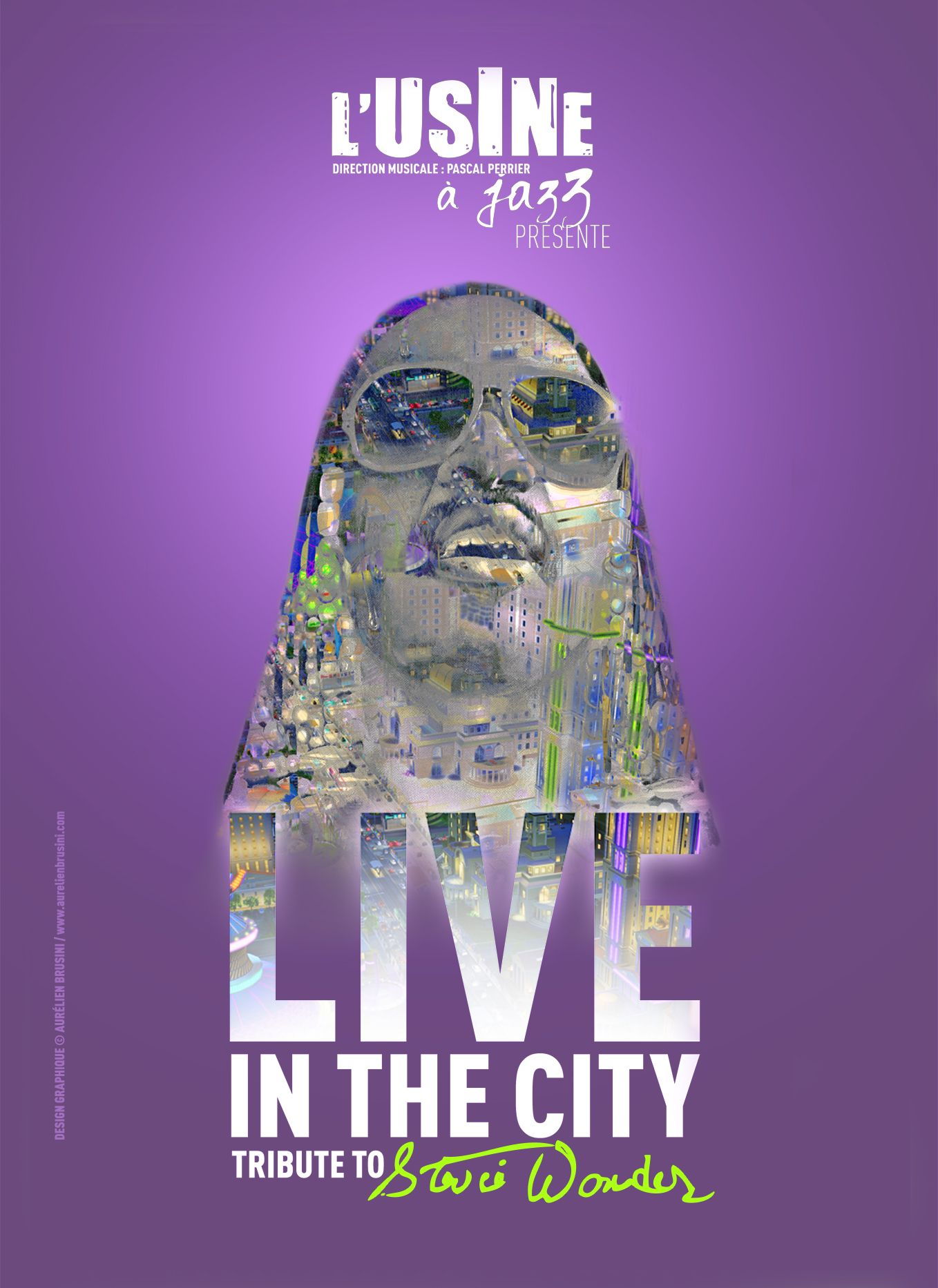 Live in the City - Tribute to Stevie Wonder